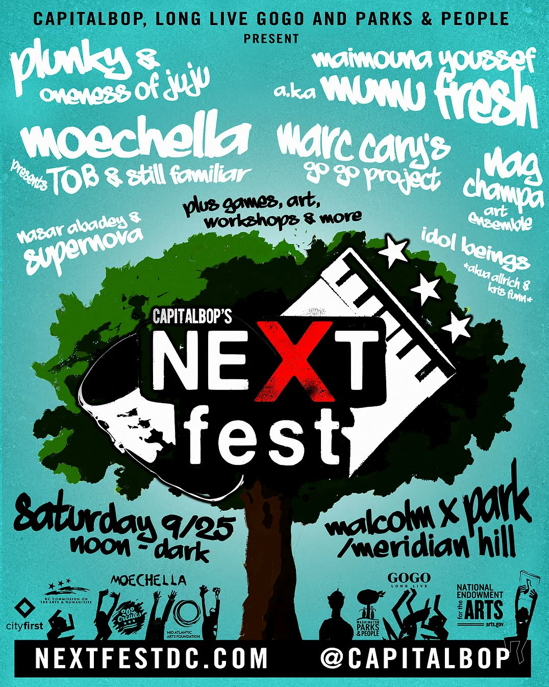 Logo for NextFest DC Volunteers