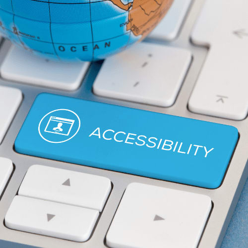 Logo for Formatting for accessibility