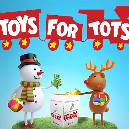 Logo for Open Doors Toys for Tots Sorting and Assistance