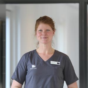 Veterinærsygeplejerske Lene Holme Møller-Madsen