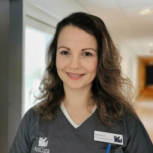 Veterinærsygeplejerske Katja Wilmsen