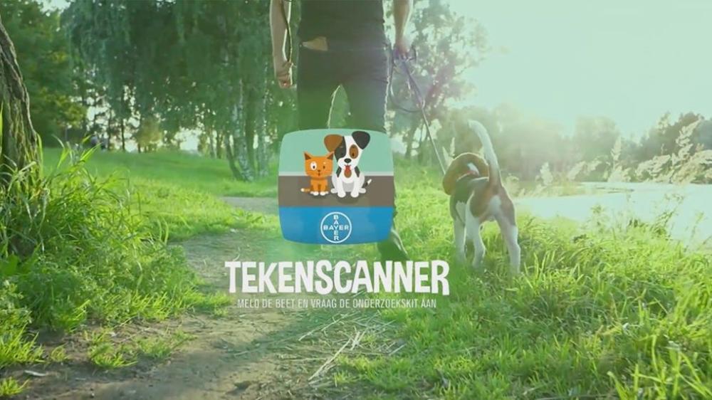 Tekenscanner app om teken bij uw huisdier te melden
