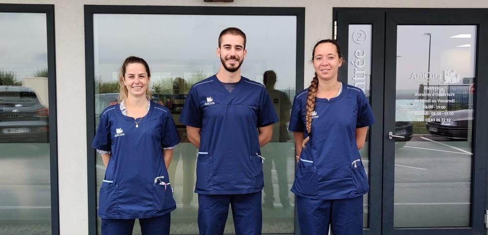 Nouveaux vétérinaires à la Clinique AniCura LorraineVet à Ludres près de Nancy