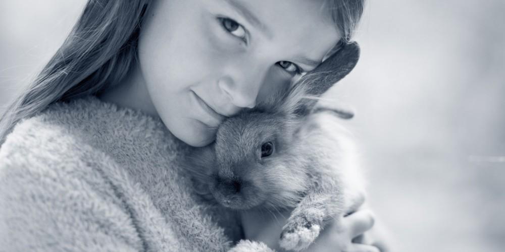 konijntje knuffel