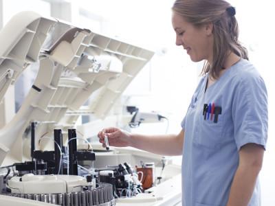 service laboratoire de la clinique vétérinaire AniCura TRIOVet à Rennes