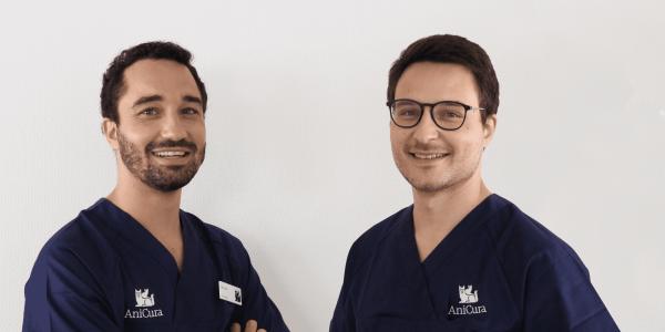 Dr. Vet. Moinard et Dr. Vet. Sapet intègrent la clinique AniCura TRIOVet