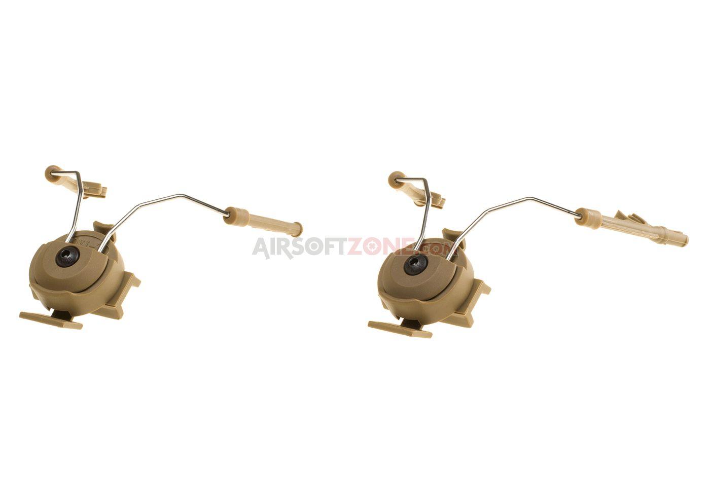 Attacco cuffie comtac I / II per elmetti fast pj helmet rail adapter set CB