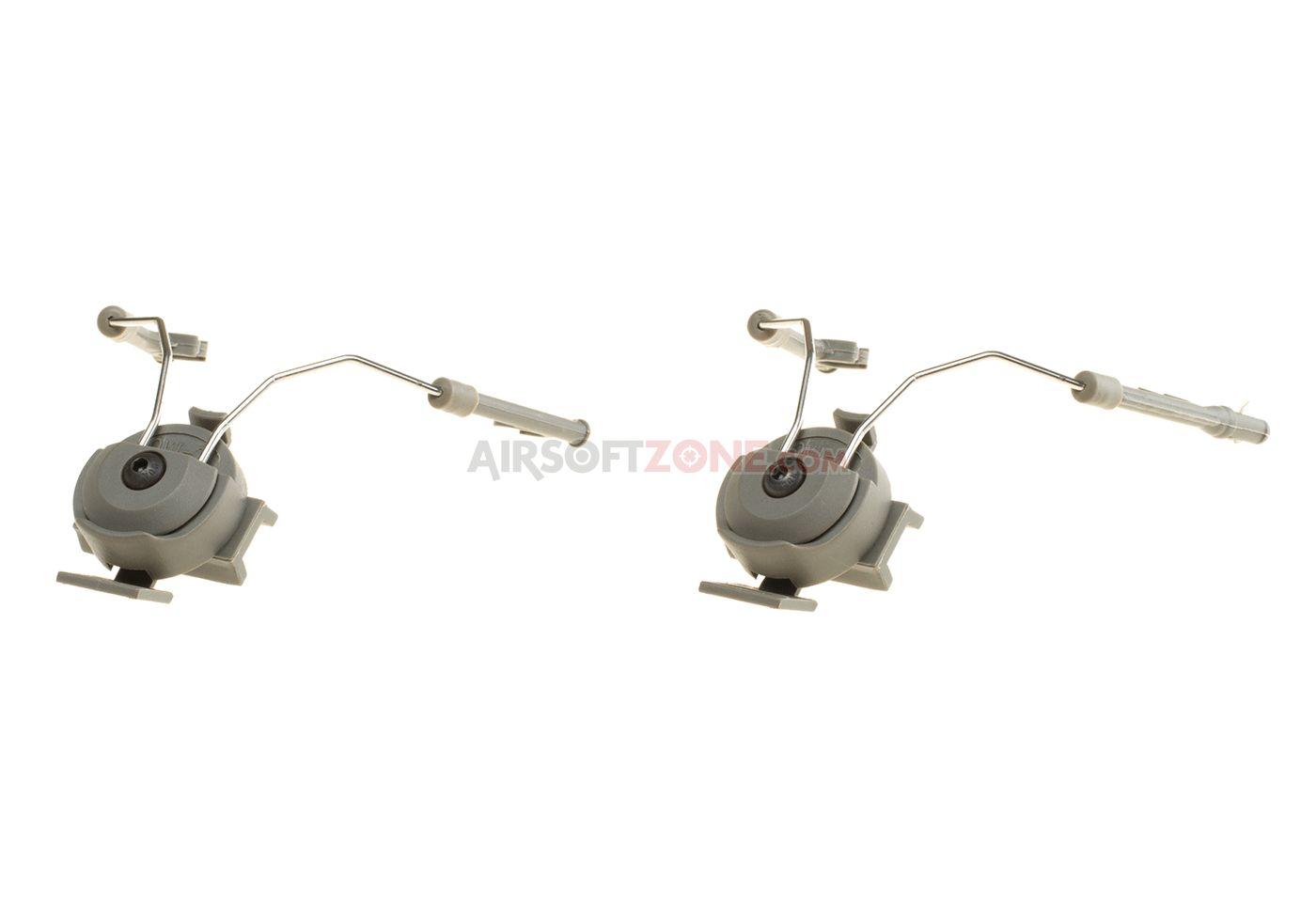 Attacco cuffie comtac I / II per elmetti fast pj helmet rail adapter set FG