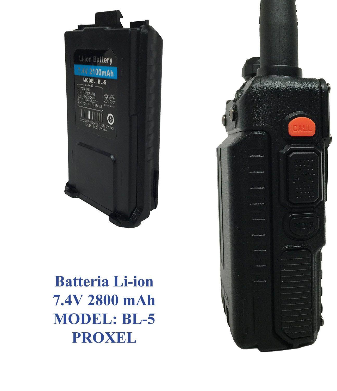 Batteria li-on 2800 mAh per radio Baofeng UV9R+HP