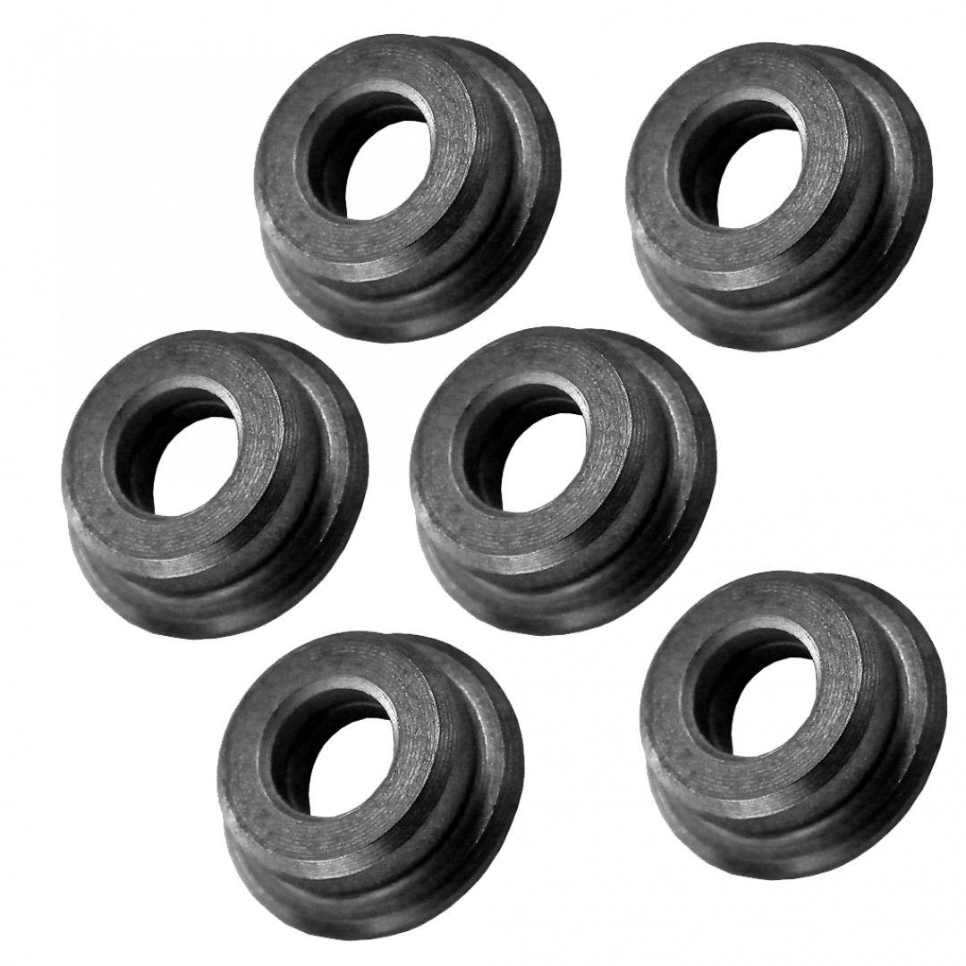 Boccole piene in acciaio da 6 mm auto lubrificanti (B6PA)