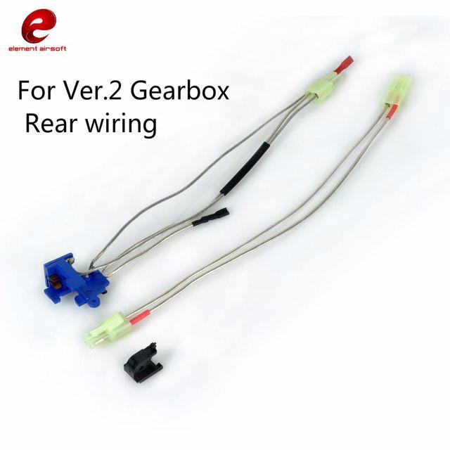cablaggio completo per gearbox seconda generazione cavi posteriori