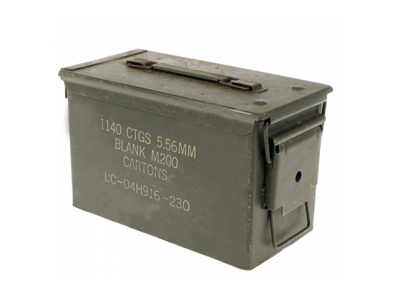 Cassetta porta munizioni tipo 3
