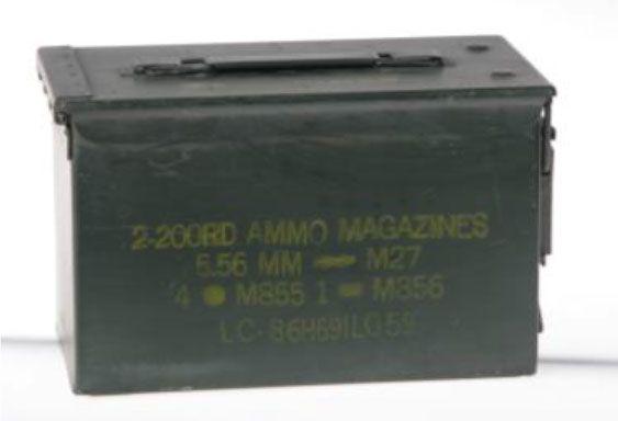 Cassetta porta munizioni media tipo 2