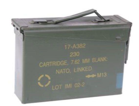 Cassetta porta munizioni piccola tipo 1