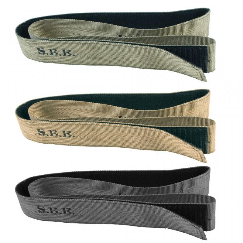 Cintura strap con velcro Tan