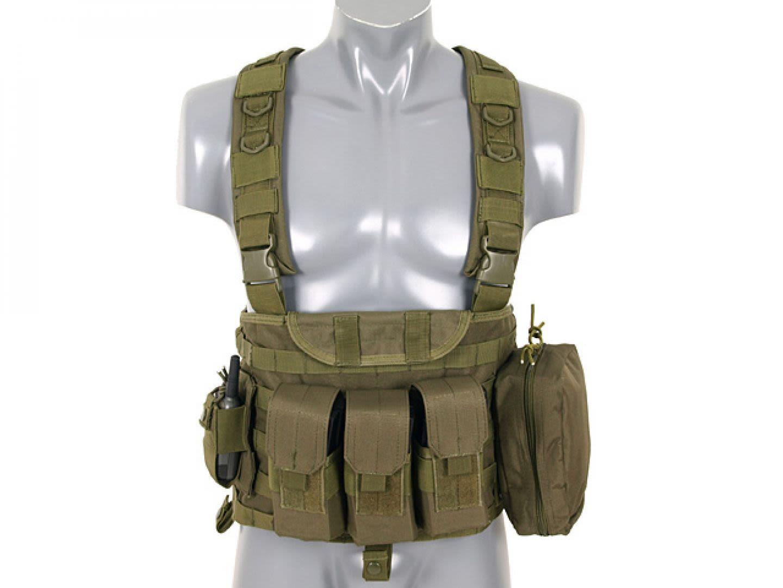 Commando recon chest harness OD