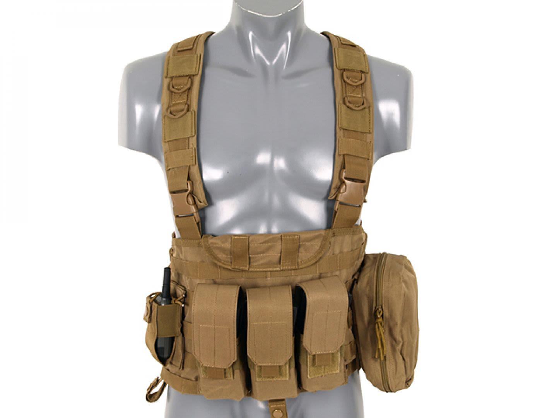 Commando recon chest harness Tan