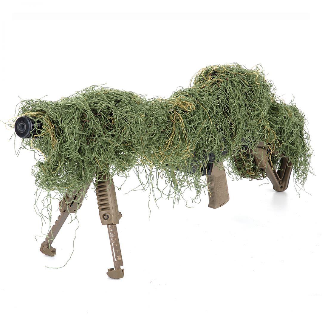 Copertura mimetica per fucili sniper woodland