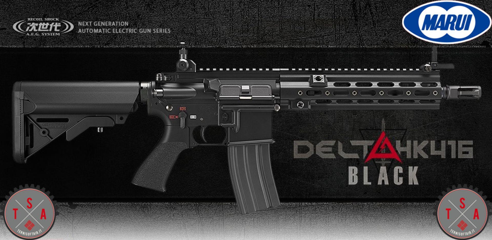 HK 416 Delta Black SRE