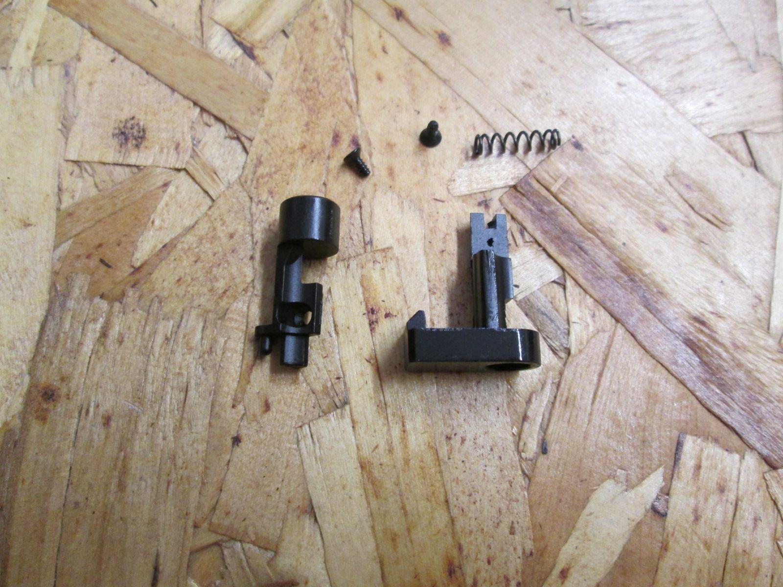 Kit bottone sgancio calcio abbattibile per serie AK SRE (74-47)