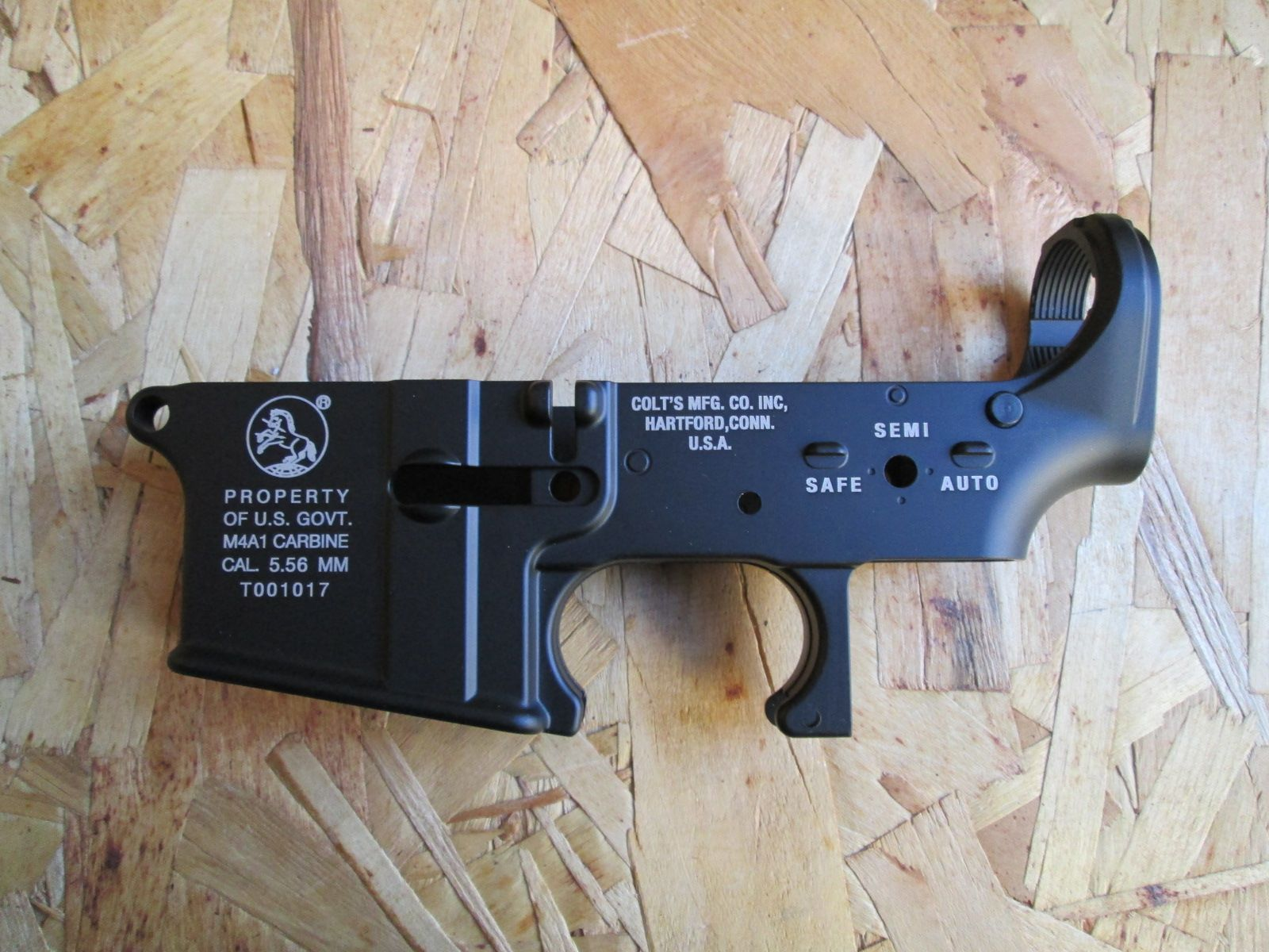 Metal lower frame M4 SRE