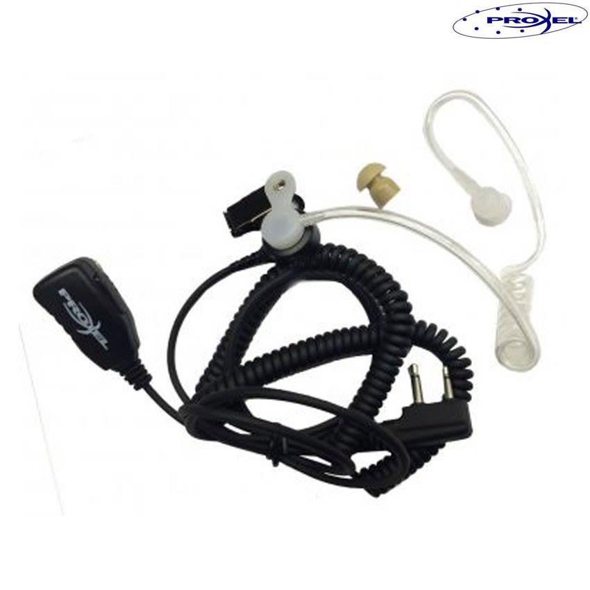 Micro auricolare con tubo acustico per radio Midland