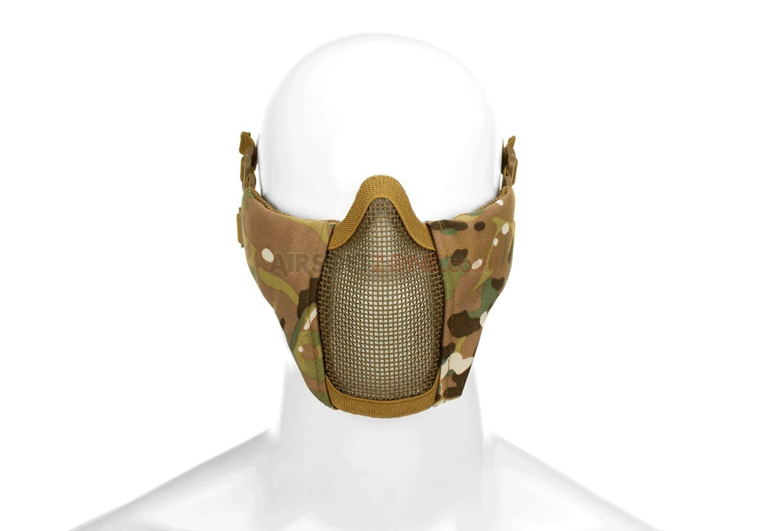 Mk.II maschera in metallo da elmetto ATP Multicamo