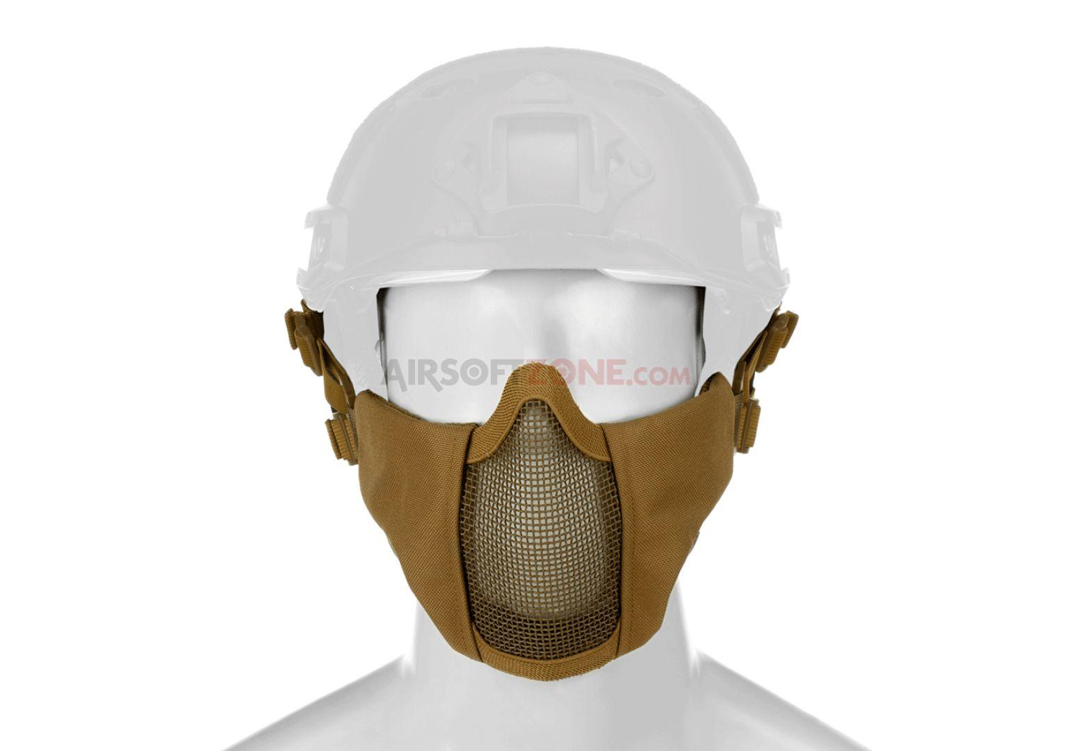 Mk.II maschera in metallo da elmetto fast Tan