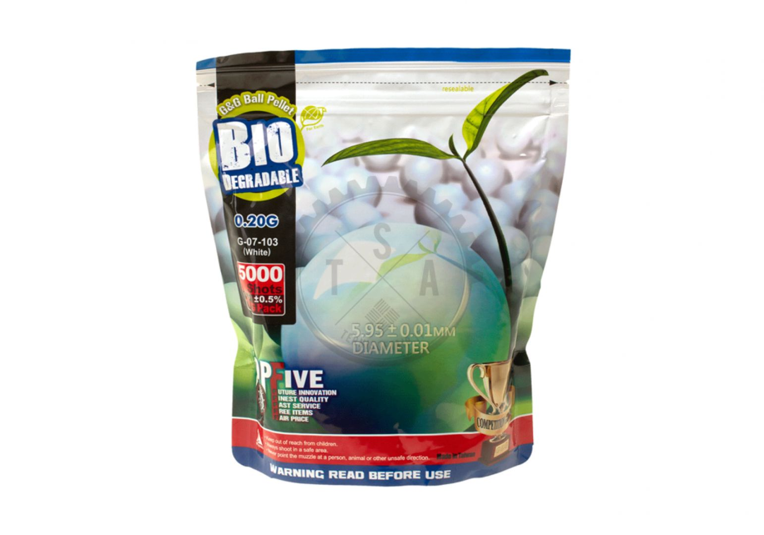 Pallini Bio 0.28 g. white