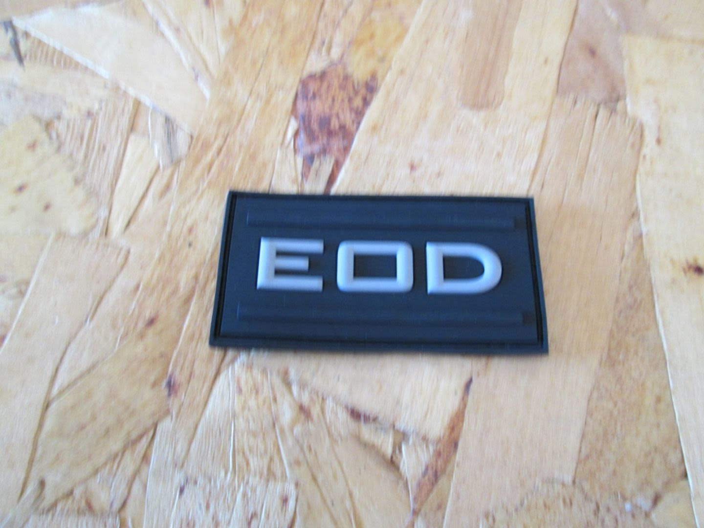 Patch Pvc EOD BK