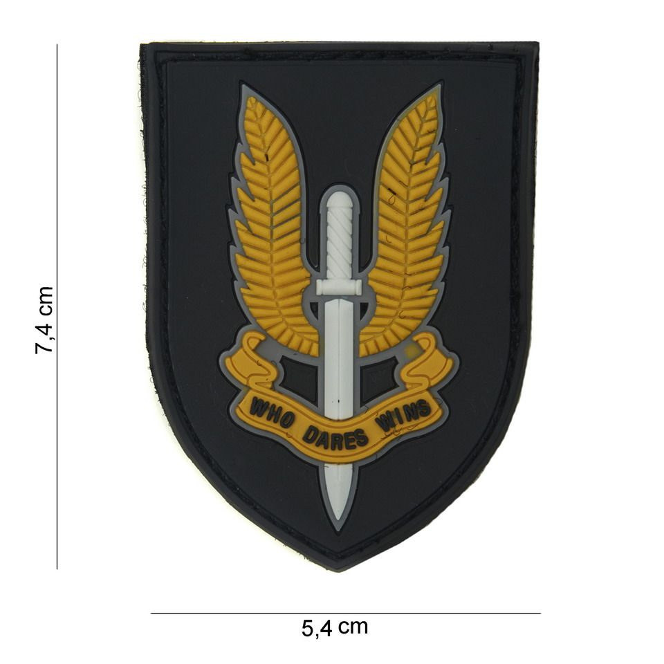 Patch Pvc Sas color