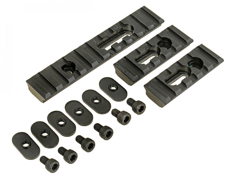 Rail set per frontali M-lock