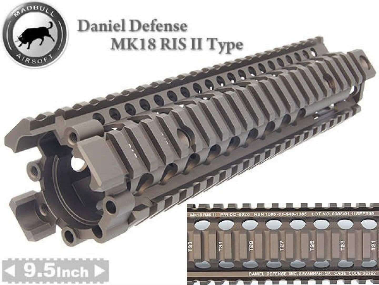 Ris Daniel Defense tipo MK18 9.5'' Tan