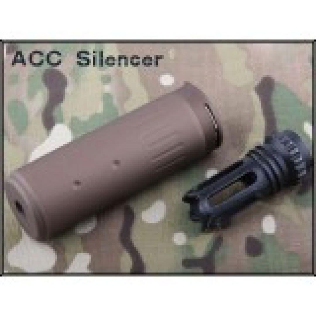 Silenziatore 125mm sgancio rapido tipo ACC CB