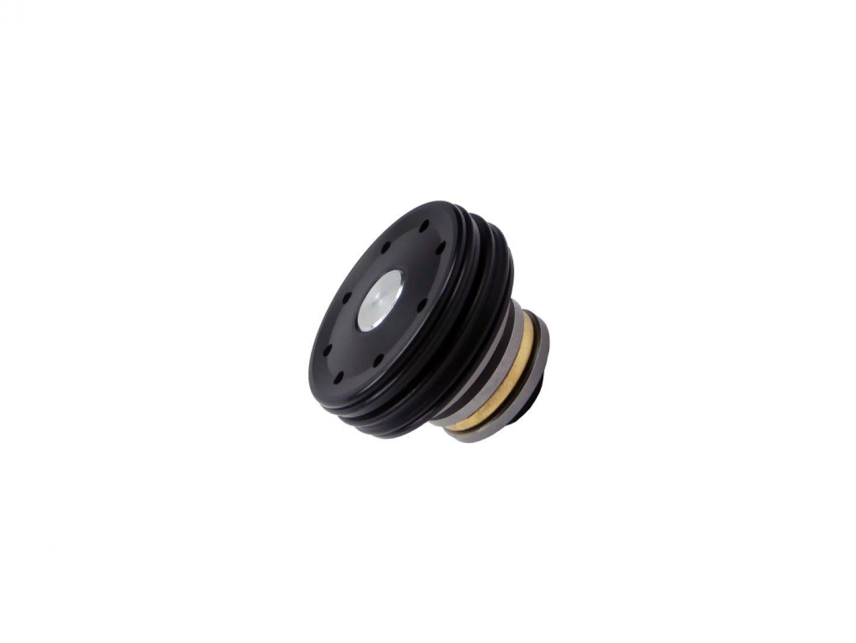 Testa pistone cuscinettata in Pom con doppio o-ring