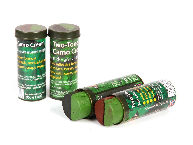 Trucco stick camo marrone/verde
