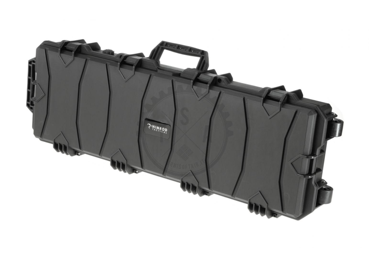 Valigia rigida porta fucile con imbottitura 100cm