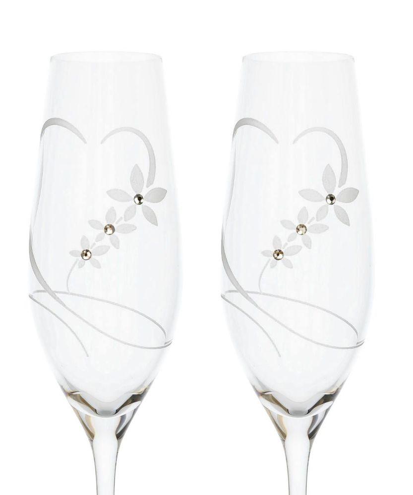 Set Swarovski na šampanské