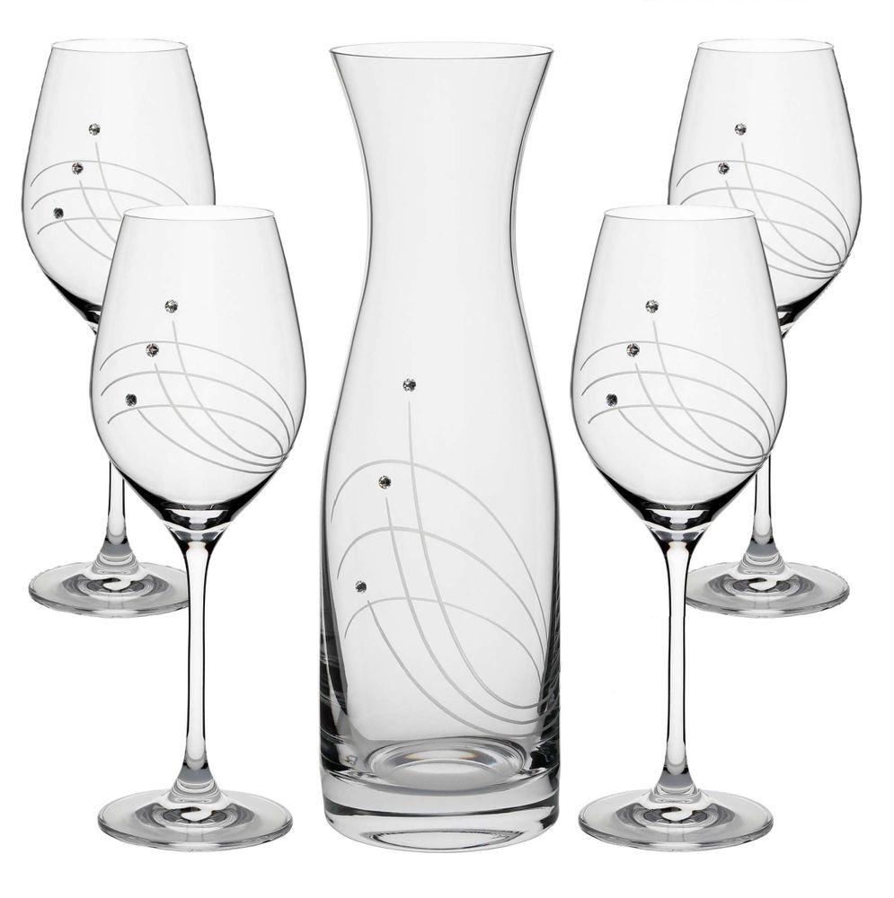 Set Swarovski na víno
