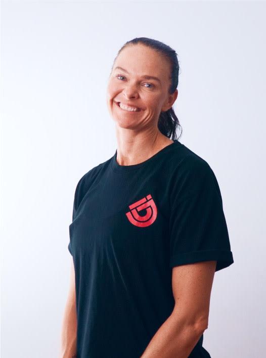 Jen Beveridge sports aerobics instructor