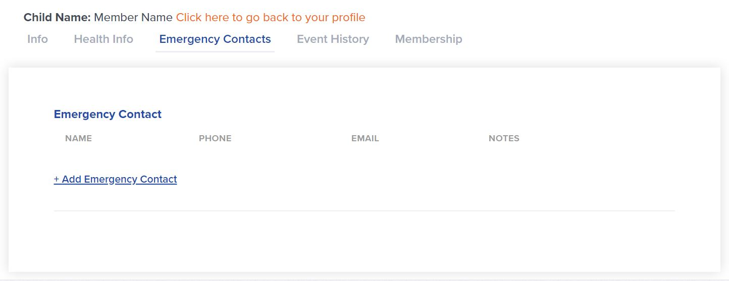 Father_Logged_In_Member_Profile_Emergency_Contacts_Tab