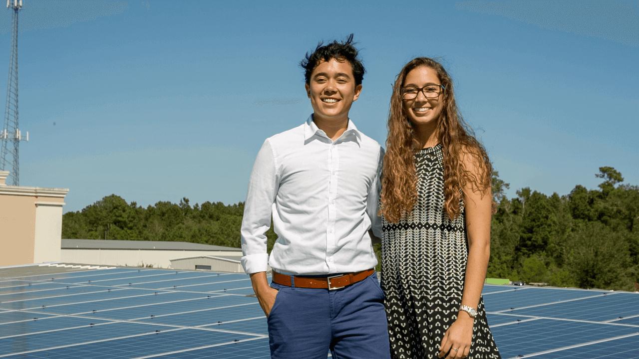 RE-volv solar ambassadors