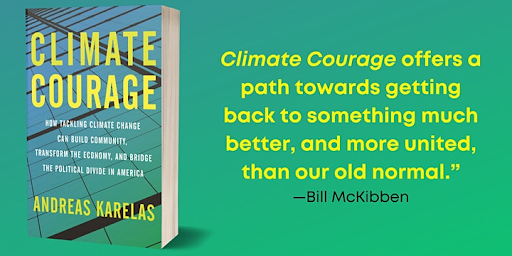 Climate Courage book cover graphic