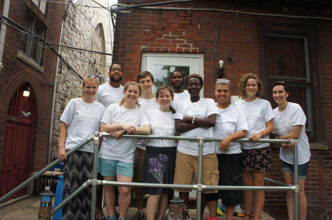 serenity house community group photo