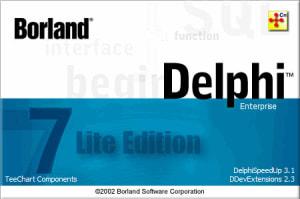 Delphi 7 Lite Full Edition [RePack] 7.3.4.3