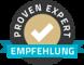 "Trust Badge der Plattform ""Proven Expert"""