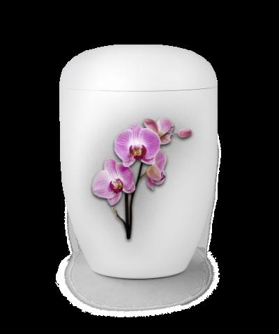"Naturstoffurne ""Orchidee"""