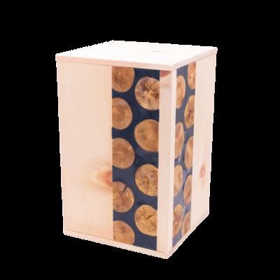 Urne aus Zirbenholz
