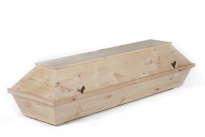 Einfacher Kremationssarg