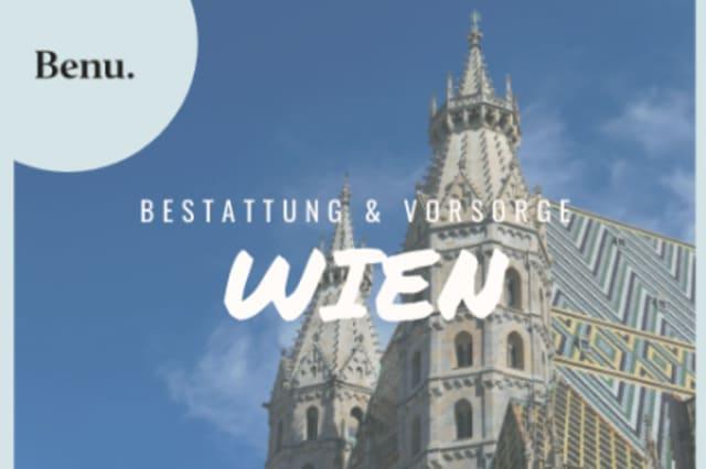 Stephansdom in Wien mit Benu Logo